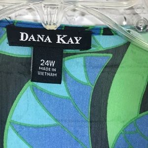 Dana Kay Tops - Women's Dana Kay sheer cover up size 24W